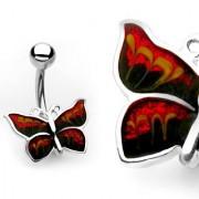 Piercing Ombligo - Mariposa