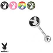 Piercing Lengua - Logo Playboy